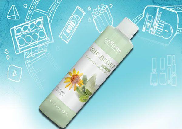 Face Wash Pure Nature Organic Calmante