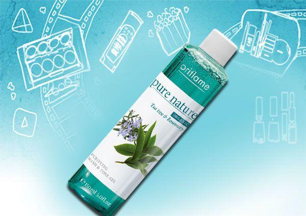 Tea Tree e Rosemary Purificante Face Wash e Gel Tone