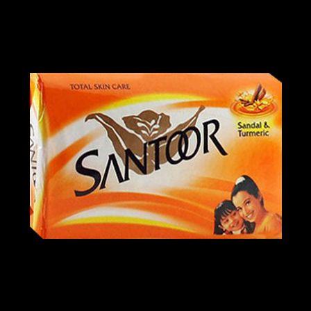 Santoor Sandália & cúrcuma sabão