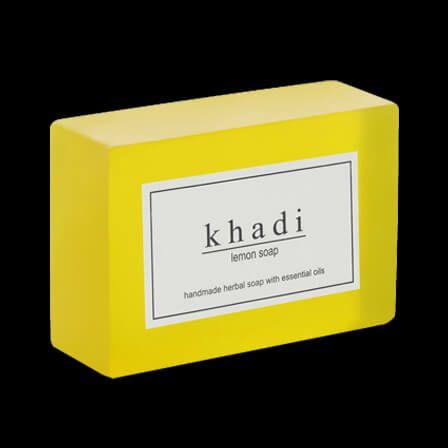 Soap Khadi Herbal Lemon
