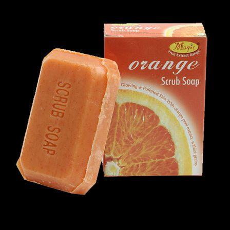 Natureza's Orange Scrub Soap