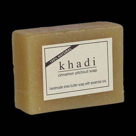 Soap Khadi Herbal Cinnamon Pitchouli