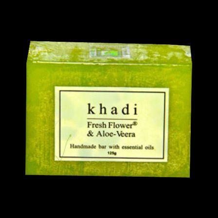 sabão Khadi flor fresca Aloe-Vera