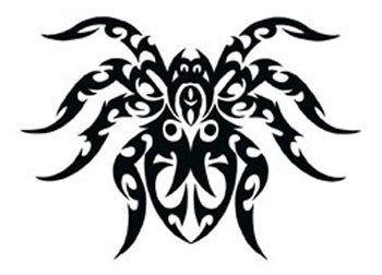 desenhos tatuagem de aranha tribal