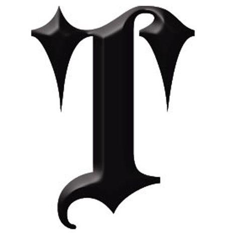 A letra T