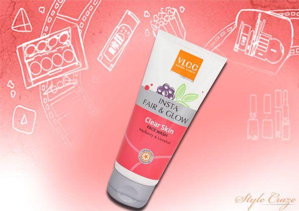 Face Wash VLCC Insta Fair & Glow pele clara