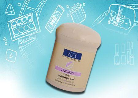 VLCC pele justo Saffron Gel Massagem