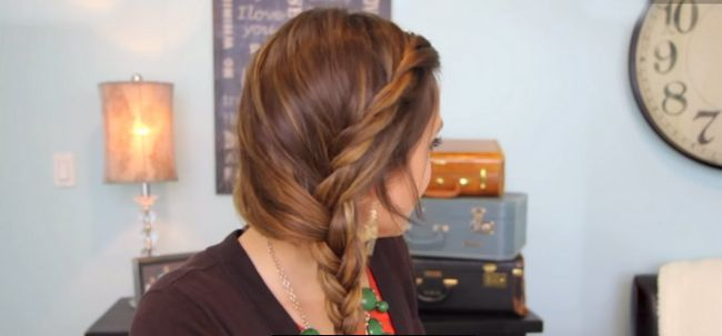 Trançado Twister penteado - DIY Photo