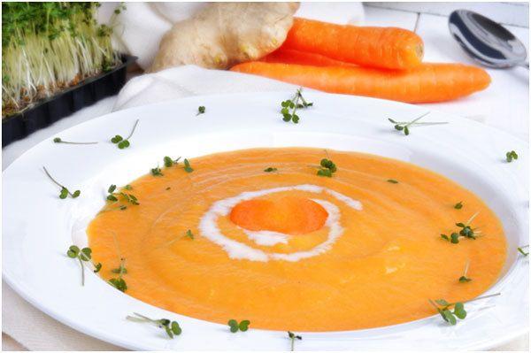 Ginger-n-Sopa de Cenoura
