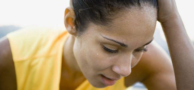 Será que a transpiração levar à perda de cabelo? Photo