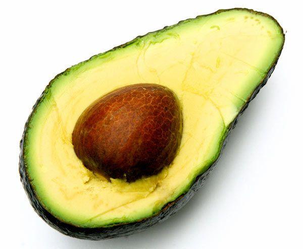 problema de pele Avocado
