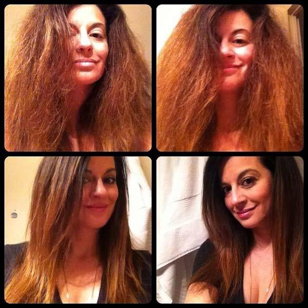 alisamento de cabelo vs alisamento