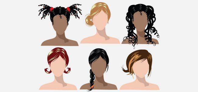 Penteados Dicas para diferentes tipos de cabelo Photo