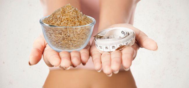 É a perda de arroz integral eficaz para peso? Photo