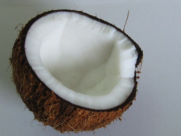 leite de coco e máscara capilar de limão