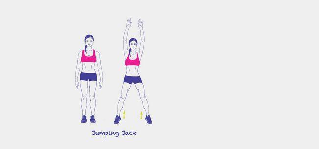 Como fazer Jumping Jacks ajudar na perda de peso? Photo