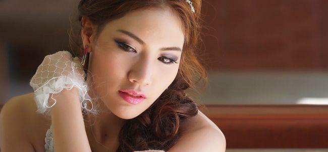 Como fazer maquiagem coreano nupcial? Photo