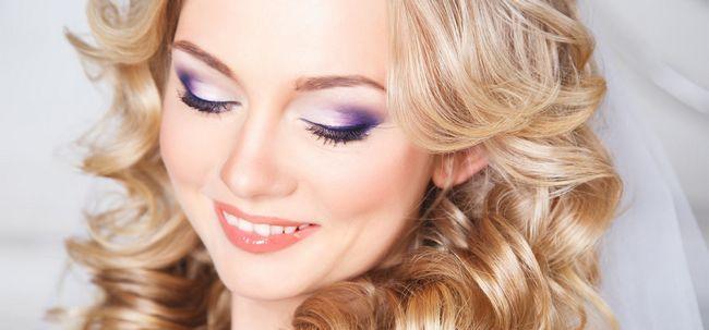 Como fazer maquiagem roxo do casamento? Photo