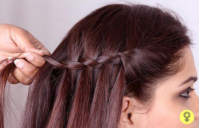 outra parte do cabelo