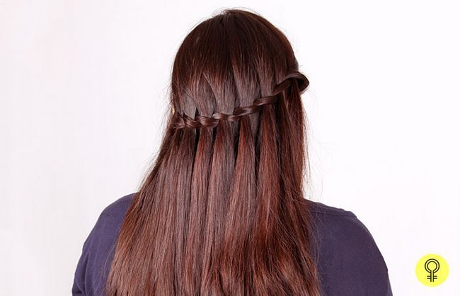 Termine o seu penteado