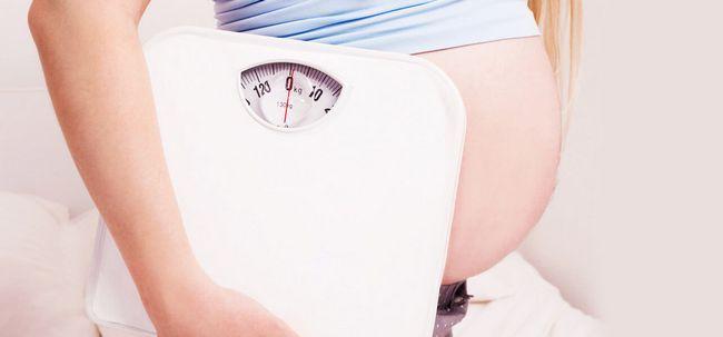 Como gerir o seu ganho de peso durante a gravidez? Photo