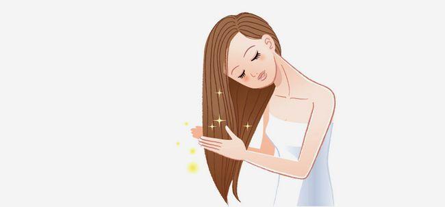 Como tomar cuidado adequado de seu cabelo? Photo