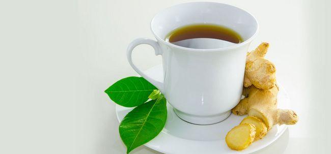 Como usar o chá de gengibre para perder peso? Photo
