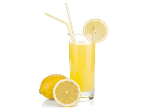Fatias de limão para cabelos
