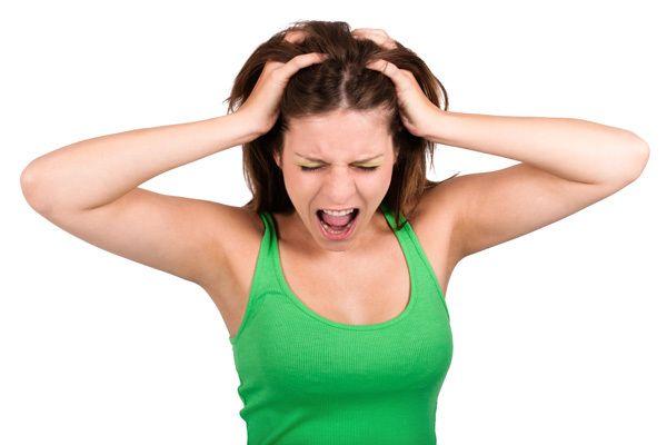 cabelo mulheres perda de estresse