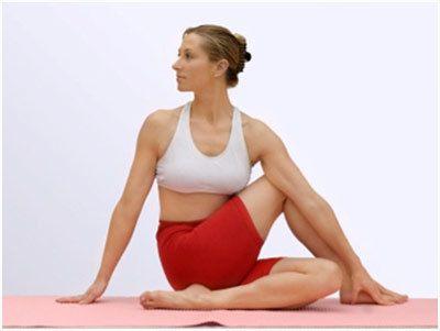 MATSYENDRASANA para a ioga