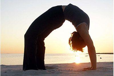 Urdha Dhanurasana para a ioga