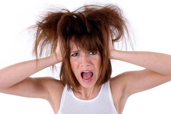 Razão para a perda de cabelo