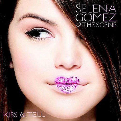 selena gomez beijo e dizer capa do álbum