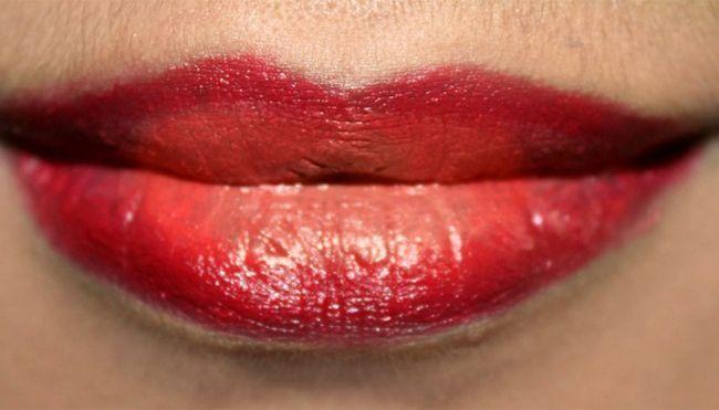 Luscious Ombre Lábios Maquiagem - Tutorial Com Etapas detalhadas & Imagens Photo