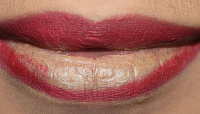 Luscious Ombre Lips Makeup (2)