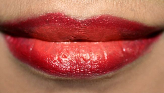 Luscious Ombre Lips Makeup (5)