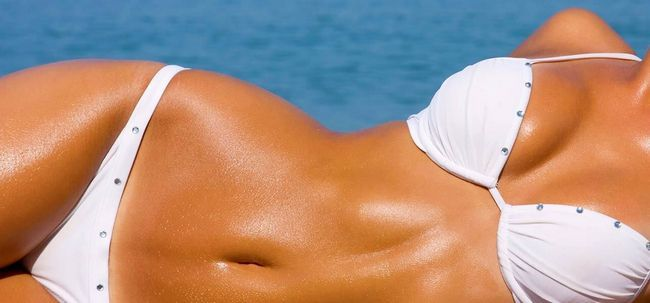 Dicas naturais para Tanning saudável Photo