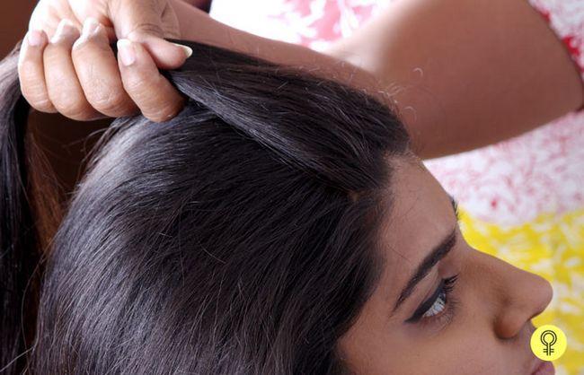 cabelo para trás
