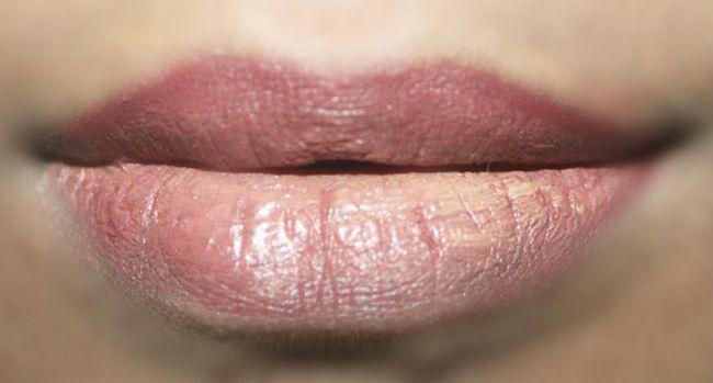 Como fazer nu Lips Makeup Tutorial (3)