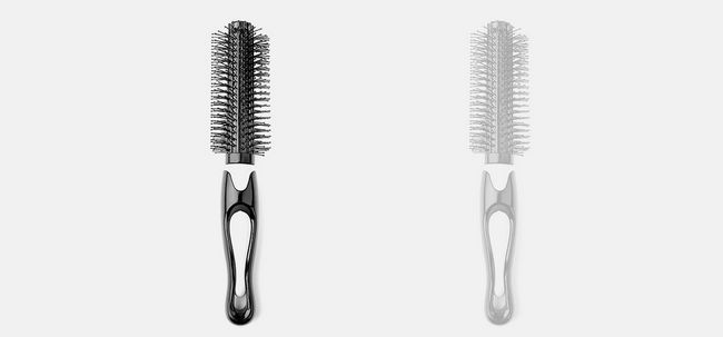 Hair Styling Com Combs Photo