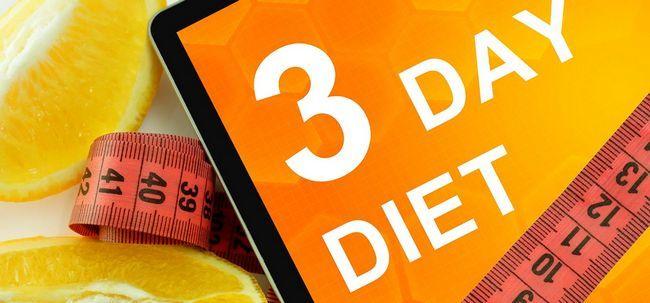 O 3 Day Diet Plan: Tudo o Que Você Precisa Saber Photo
