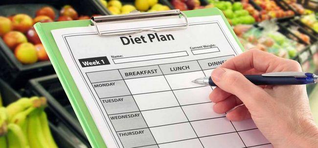 O plano de dieta mediterrânica final para perda de peso Photo