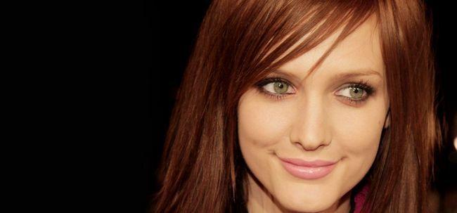 Dicas para escolher a cor do cabelo para pálidas Descascado Beauties Photo