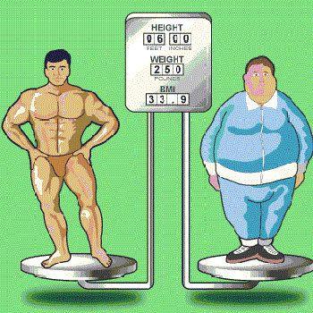 Ferramentas para determinar o peso ideal e necessidades de calorias diárias Photo