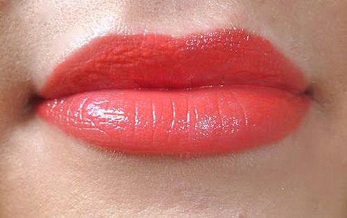 Bourjois tangerine suculento beijo brilho