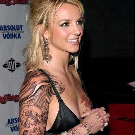 Britney Tattoo Armband