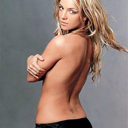 Tatuagem de Britney Spears de fadas