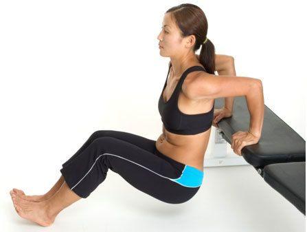 tríceps mergulhos benefícios