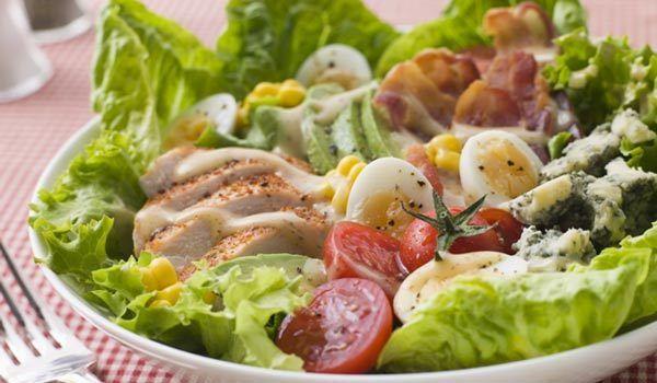 Salada de lagosta Cobb