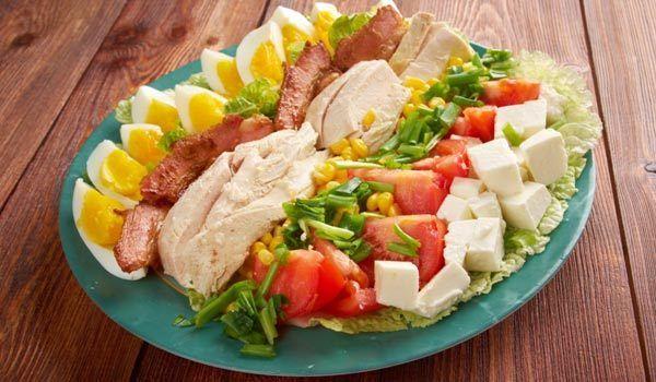 Salada Turquia Cobb